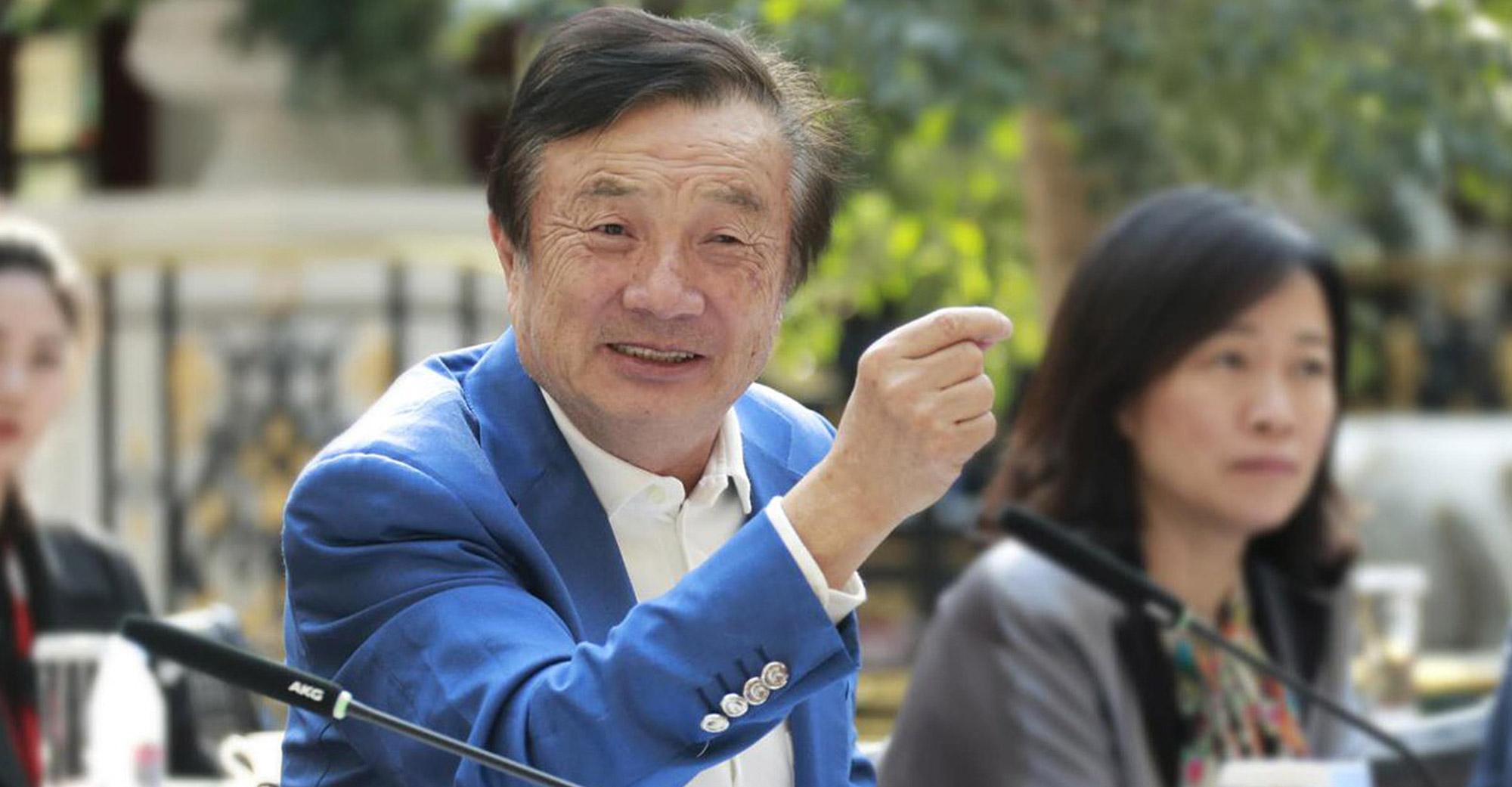 Ren Zhengfei CEO of Huawei