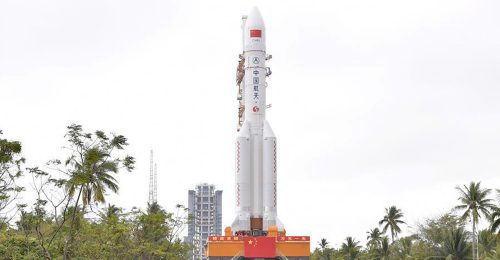 China prepares to launch Long March-5 rocket