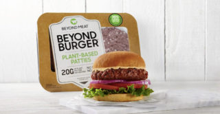 Beyond Meat teamed up with Freshippo